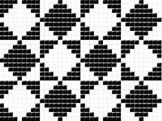 frå Nordfjord. Tapestry Crochet Patterns, Intarsia Patterns, Crochet Edging Patterns, Fair Isle Knitting Patterns, Christmas Crochet Patterns, Knitting Charts, Weaving Patterns, Crochet Motif, Blackwork Cross Stitch