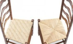 How To Weave Traditional Chair Seats