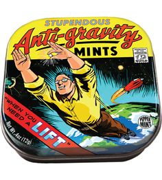 Anti-Gravity Mints-great for superhero themed party
