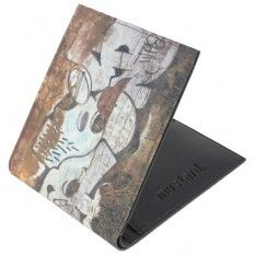 Mustard Graffiti Wallet - Black