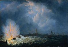 5 februari 1831 ♦ Jan van Speijk laat zijn kanonneerboot ontploffen.