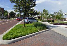 Kissimmee Lakefront Park.  Street stormwater run off treatment chamber.