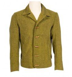 Django Jacket | Jamie Foxx Green Jacket Costume