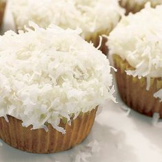 Coconut Cupcake & Cream Cheese Frosting