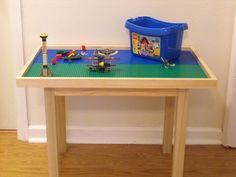 Lego compatible table12 plates.. $249.00, via Etsy.