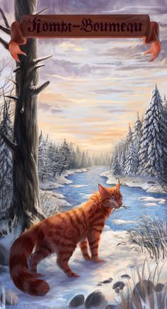 Warriors cats - Flametail by Cat-Patrisiya.deviantart.com on @DeviantArt