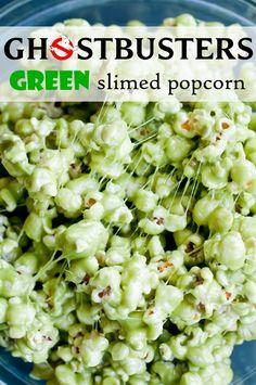 Ghostbusters Green Slimed Popcorn