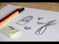 Beginnen met handletteren - deel 3: kleine illustraties