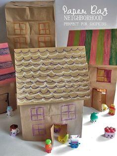 Junk model house