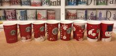 Starbucks Christmas mugs