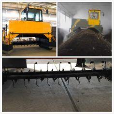 Hydraulic Auxiliary Crawler Compost Turner - info@organicfertilizermachine.com
