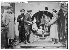 Doberitz -- disinfecting clothing (LOC) by The Library of Congress, via Flickr
