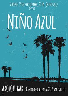 #NiñoAzul #Flyer Niño Azul