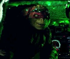Donnie's my favorite above all, but Raph made me melt at the end of the movie when he did this! XD
