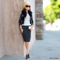 The perfect outfit…check! ✔️ #barbie #barbiestyle