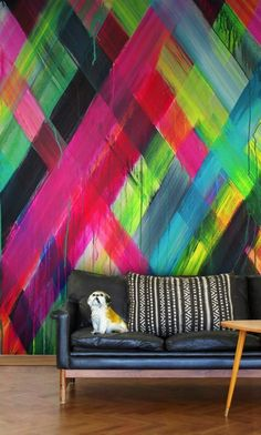 Wall Decorating, Colourful