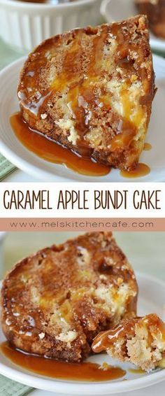 This perfectly spiced, moist cake is studded with bits of apple while ribbons of sweetened cream cheese swirl throughout.