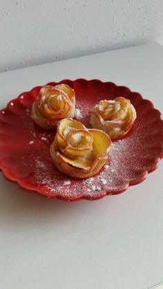 Lecker und leicht. Apfel-Rosen