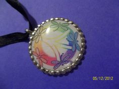 Peace Bottle Cap Necklace by ang744 on Etsy, $2.00