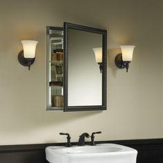 """Kohler 20"""" x 26"""" Wall Mount Mirrored Medicine Cabinet with Mirrored Door"""