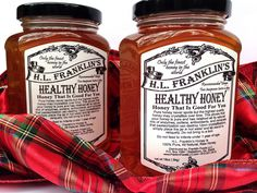 H.L. Franklin's Healthy Honey