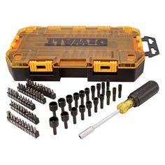 Tools Ambitious 20 Pieces Screw Bit Set Quick Switch Box Packed Half Time Drill High Hardness Wrench High Speed Steel Countersunk Durable Hand & Power Tool Accessories