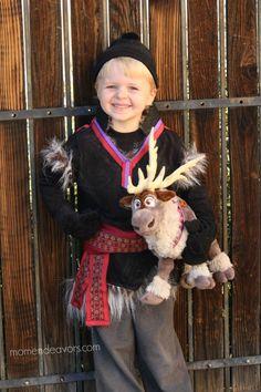 DIY Disney Frozen Kristoff Costume - it's no-sew!!!!