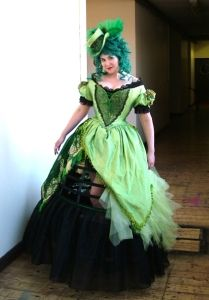 A Steampunk Absinthe Fairy Gown, by Jema Hewitt