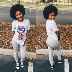 @TheBritttt afro <3 i have locs I love to see a sister going natural
