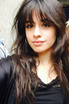 Camila Cabello love this gurl Cabello Hair, Camila And Lauren, Fifth Harmony, Hairstyles With Bangs, Belle Photo, Hair Inspo, Girl Crushes, Hair Goals, New Hair