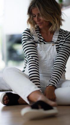 Style...Janka Polliani // stripes