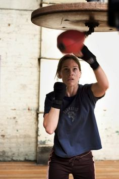 "Hilary Swank in ""Million Dollar Baby"" (2004) Best Actress Oscar 2004"