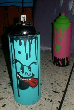 Spray can graffiti » like a tattoo for the can!