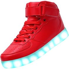 wholesale dealer 1ac40 3e863 Kids LED Lights Shoes Boys Girls Fashion Sneakers with Usb Charging Support  (Toddler Little Kid Big Kid)