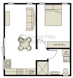 1000 images about small house plans on pinterest one for Garage apartment plans australia