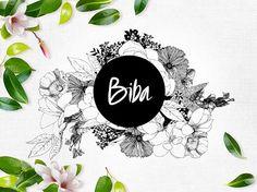 Biba on Behance Creating A Brand, Logo Inspiration, Salons, Branding Design, Identity, Behance, Graphic Design, Illustration, Creative
