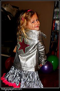 "The Fresh Beat Band ""Rock Star Jacket"" that I made for my daughter"