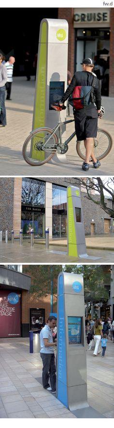 Bespoke digital kiosk by fwdesign
