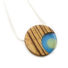 Handmade wood jewelry - Spruce Design Company's