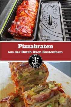 Pizzabraten - New Ideas Camping Food Packing, Camping Meals, Grilled Asparagus Recipes, Grill Dessert, Burger Co, Dutch Recipes, Amish Recipes, Food For A Crowd, Baked Beans