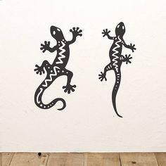 Gecko Wall Sticker Set