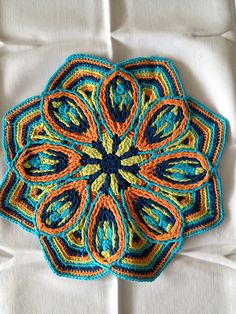 Ravelry: Project Gallery for Overlay Mandala No. 2 pattern by CAROcreated design