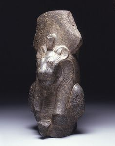 Statue of Sekhmet, Thebes (Ramesseum), Dynasty 18, reign of Amenhotep III (1390-1353 BCE) As a warlike and protective goddess, imagery of Sekhmet often accompanied the pharaoh into battle. With her fiery arrows, she could send plagues and other diseases against her (and Pharaoh's) enemies. .