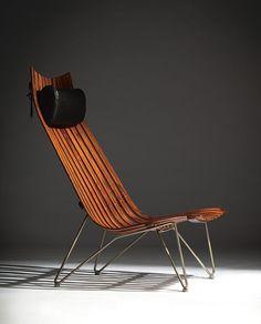 Norwegian design icons - Scandia Senior by Hans Brattrud Retro Furniture, Design Furniture, Chair Design, Cool Furniture, Eames, Design Websites, Console Design, Muebles Art Deco, Design Apartment