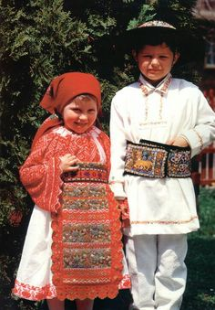 Slovakia European Countries, Folk Costume, Czech Republic, Kids Wear, Coast, Culture, Children, How To Wear, Travel