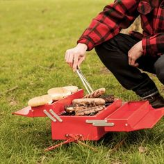 Be ready for BBQ season with our BBQ Toolbox! Find more unique outdoor gadgets at Apollo Box! Camping Gadgets, Camping Tools, Camping Stove, Cool Gadgets, Camping Gear, Outdoor Camping, Lg Smartphone, Add A Room, Home