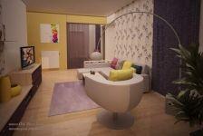 Design apartament mic in culori calde Art Deco, Bathroom, House, Ideas, Washroom, Home, Full Bath, Bath, Thoughts