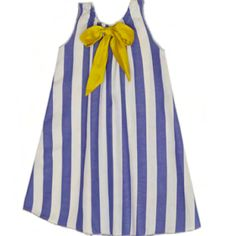 Chemise Dress in Periwinkle Stripe – Gracie and James