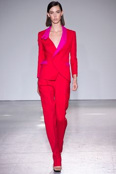 Costume National Spring 2013 Ready-to-Wear Fashion Show - Ruby Aldridge