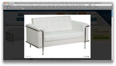 white leather loveseat $400